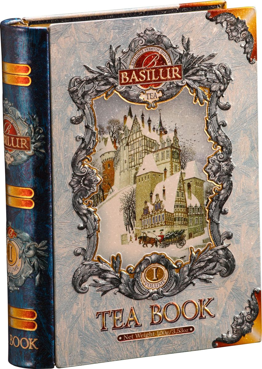 Basilur Tea Book Iчерный листовой чай, 100 г (жестяная банка) Basilur