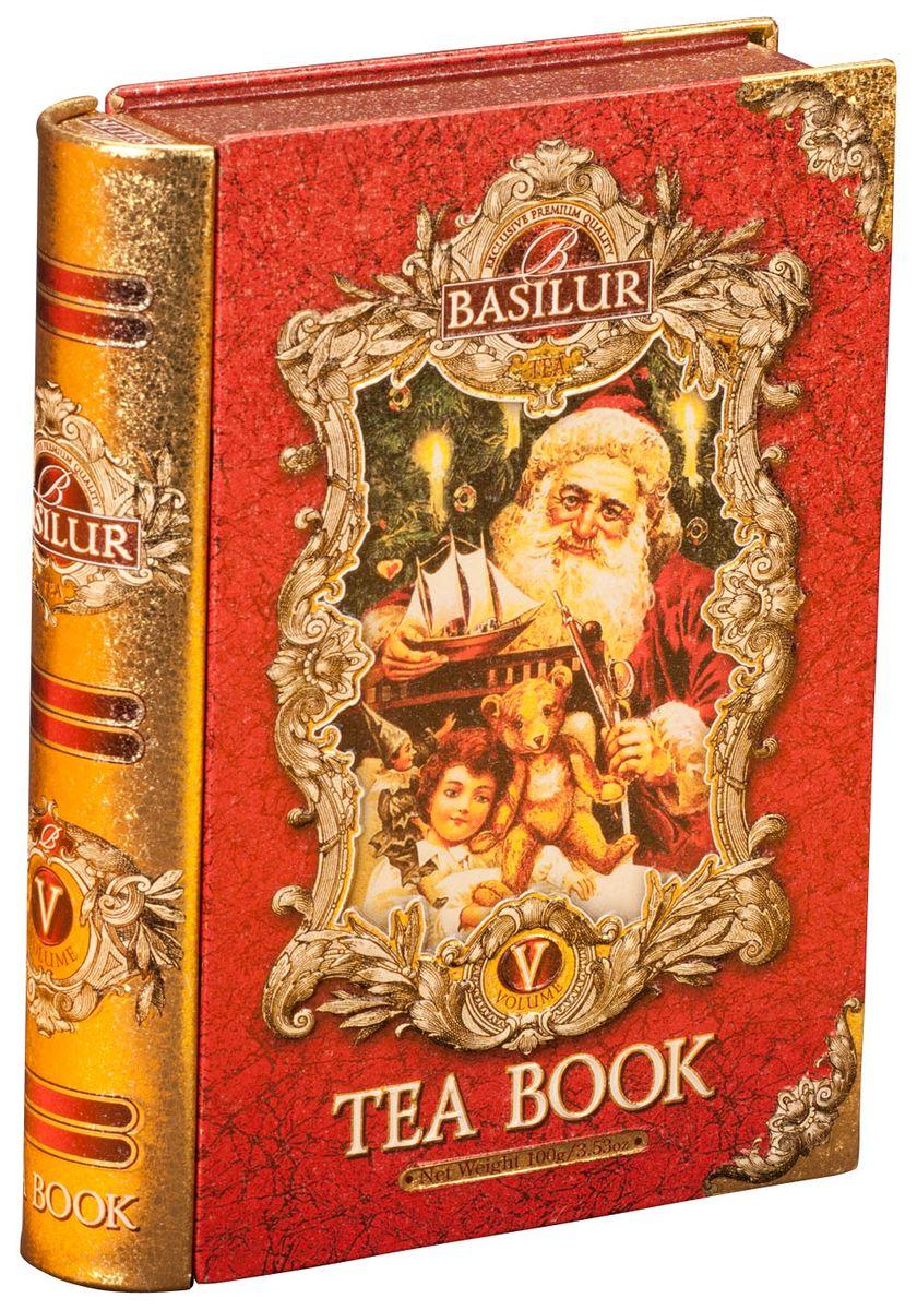 где купить Basilur Tea Book V черный листовой чай, 100 г (жестяная банка) по лучшей цене