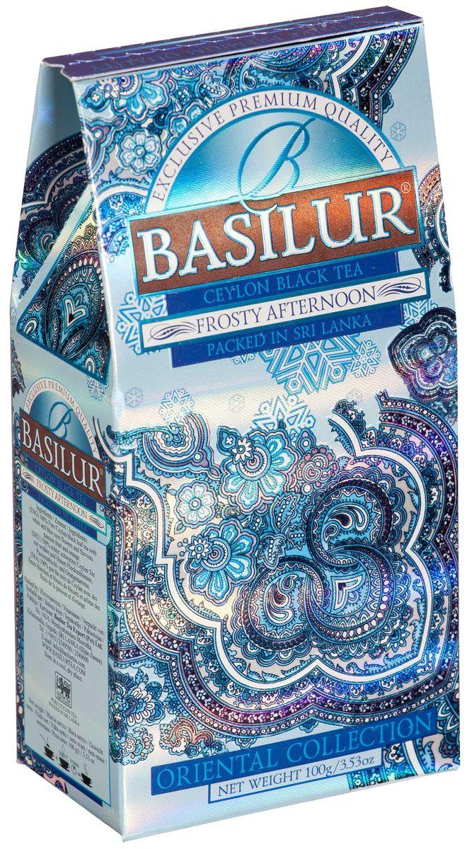 Basilur Frosty Afternoon черный листовой чай, 100 г greenfield чай greenfield классик брекфаст листовой черный 100г