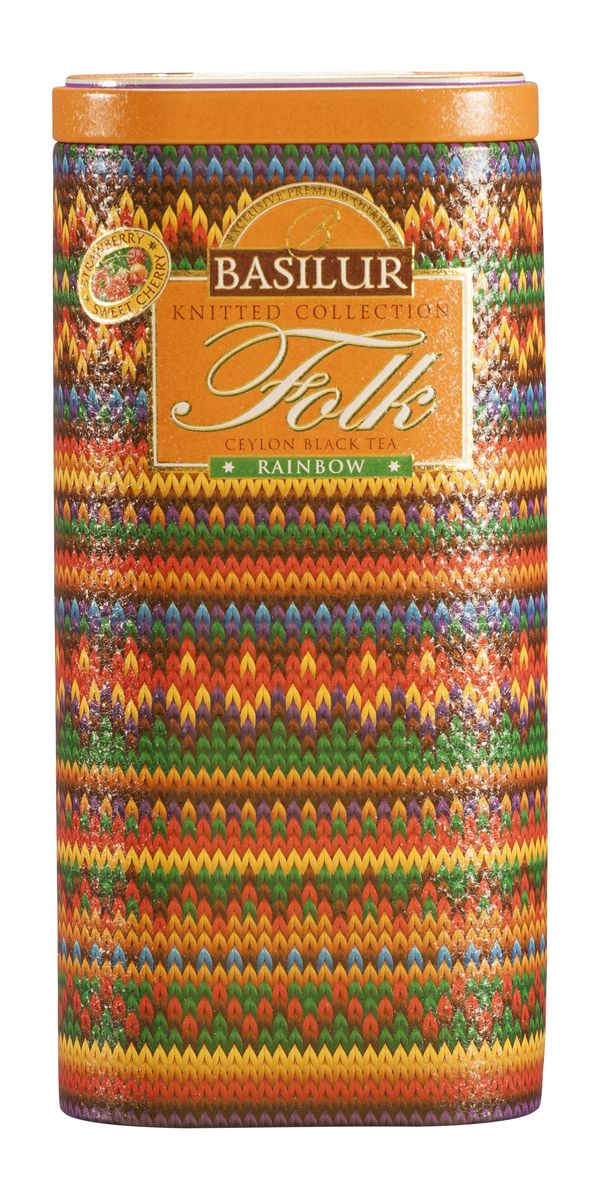 Basilur Folk Rainbow черный листовой чай, 100 г (жестяная банка) ирина богуславская государственный русский музей альманах 177 2007 folk art guidebook