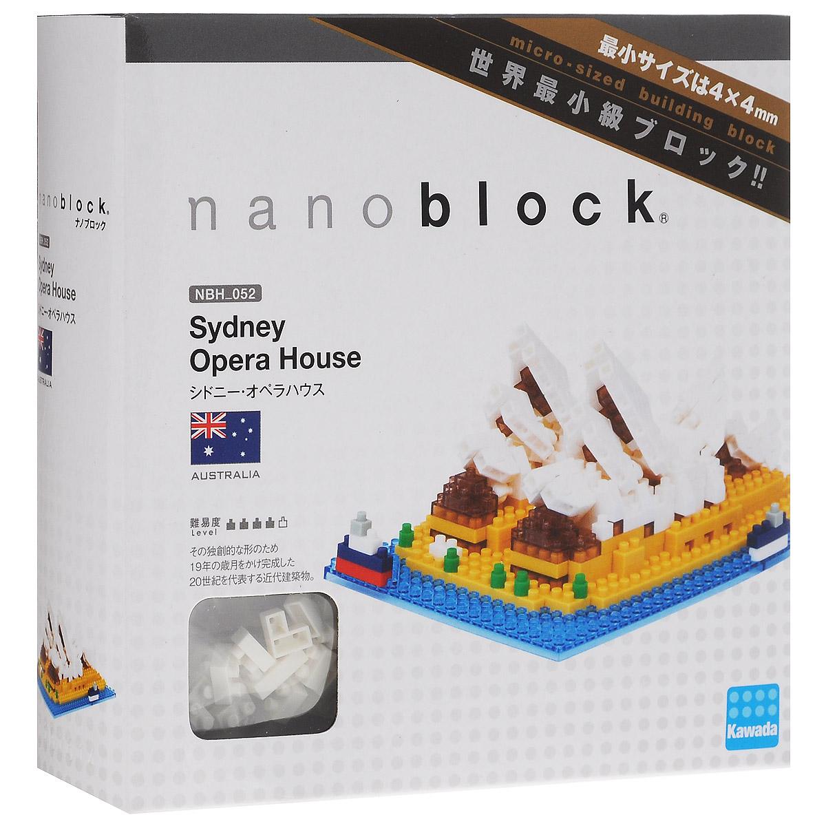 NanoBlock Мини-конструктор Сиднейский оперный театр