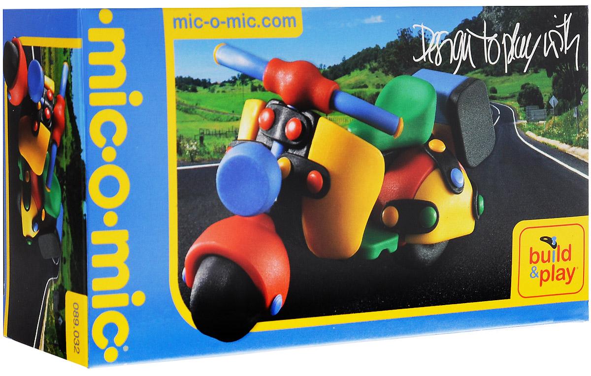 Mic-o-Mic Конструктор Мотоцикл mic o mic конструктор автомобиль гоночный малый