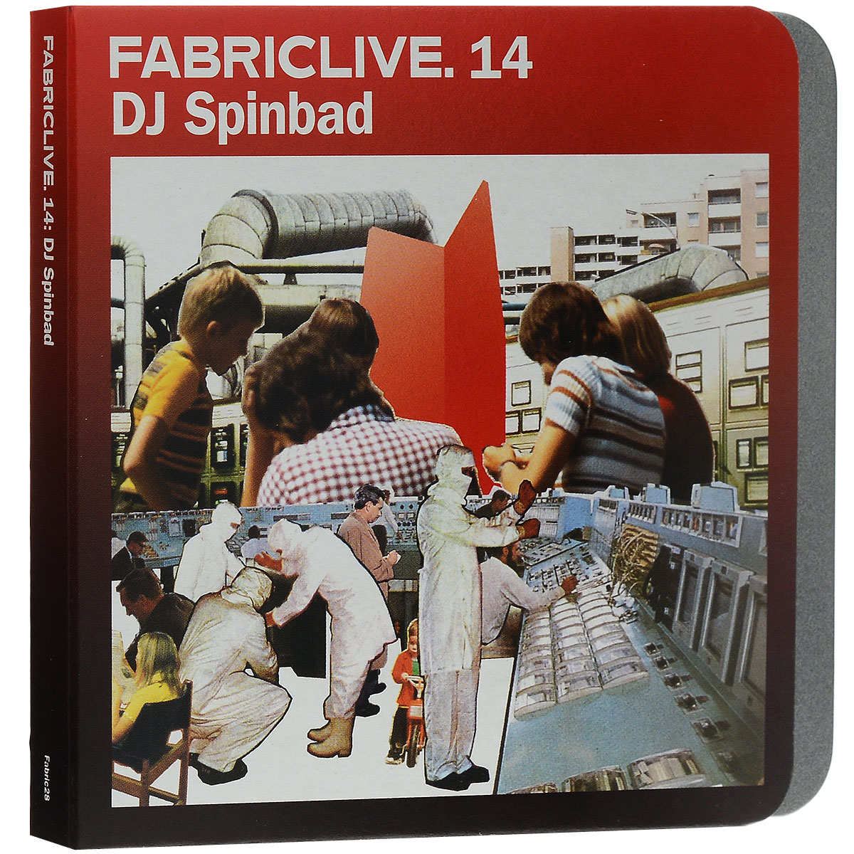 DJ Spinbad. Fabriclive.14