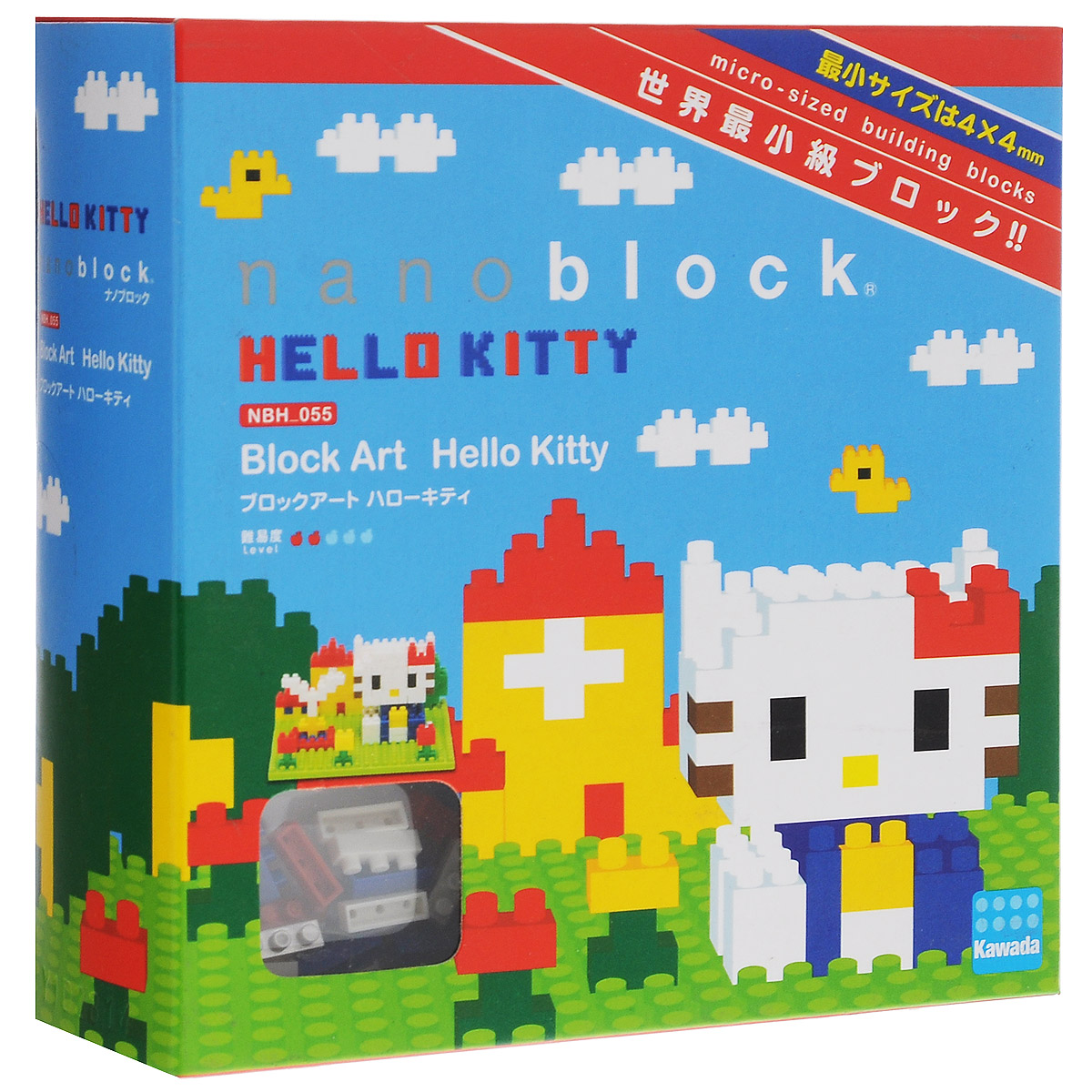 Nanoblock Мини-конструктор Hello Kitty в парке лего википедия на русском