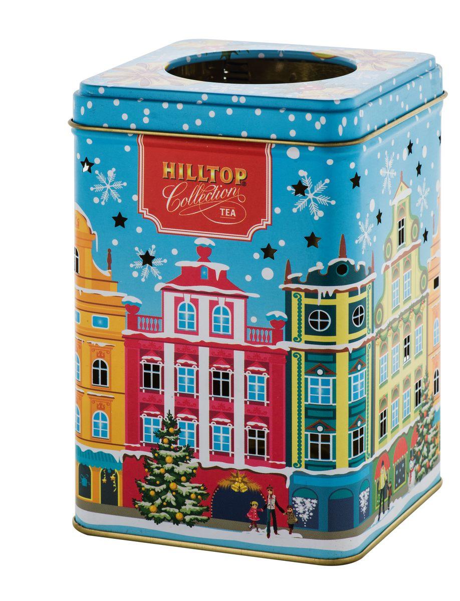 Hilltop Зимний город черный листовой чай, 100 г greenfield чай greenfield классик брекфаст листовой черный 100г