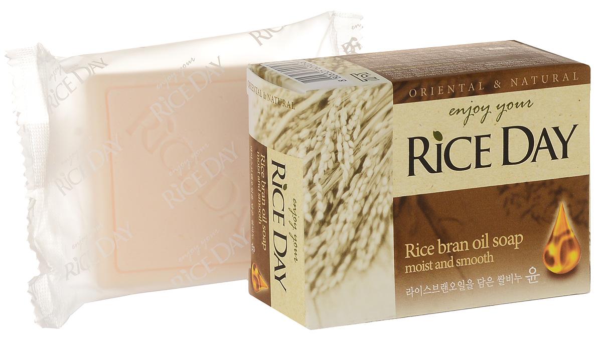 CJ Lion Riceday Мыло туалетное с экстрактом рисовых отрубей, 100 г cj lion