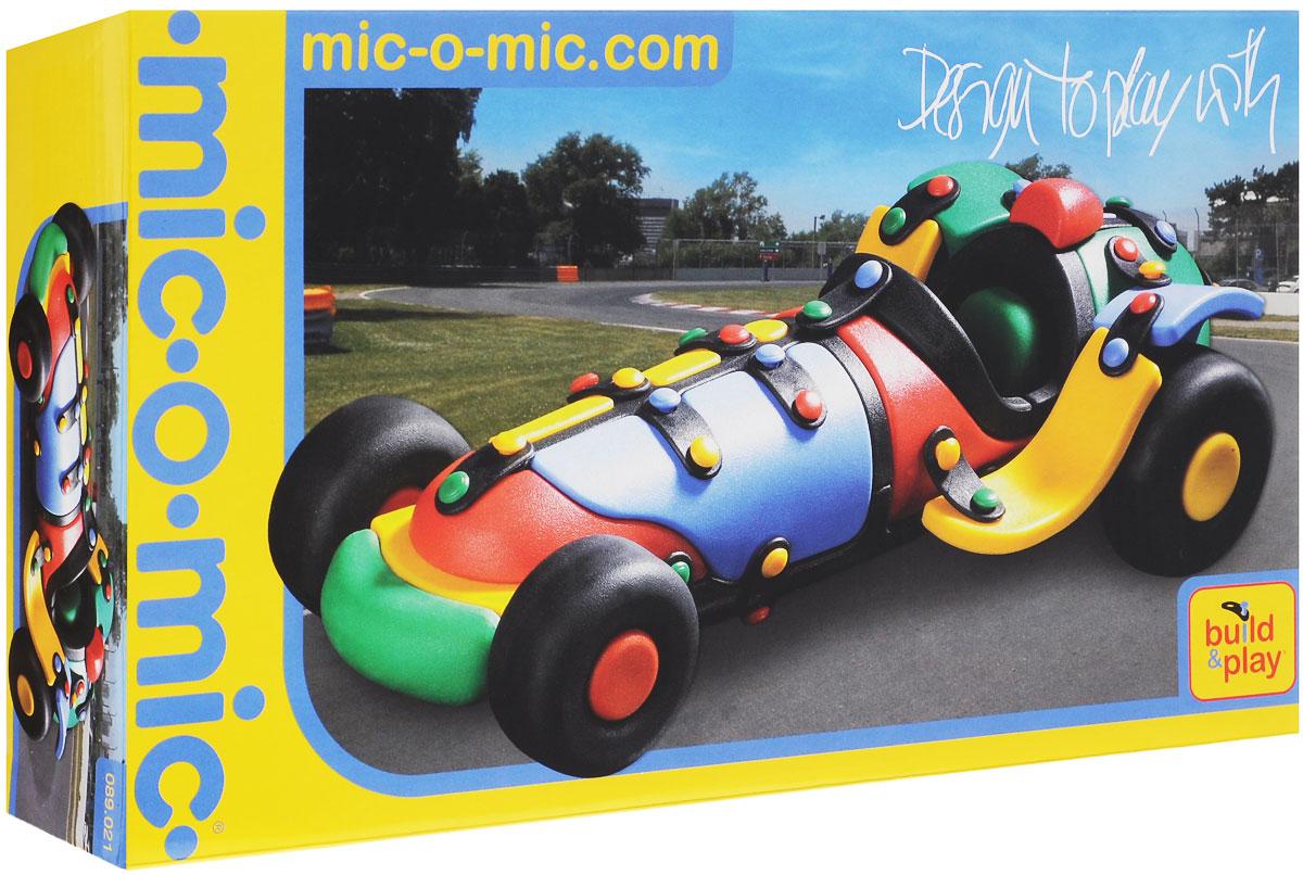 Mic-o-Mic Конструктор Автомобиль гоночный mic o mic конструктор автомобиль гоночный малый