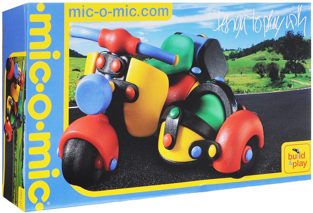 Mic-o-Mic Конструктор Мотоцикл с коляской mic o mic конструктор автомобиль гоночный малый