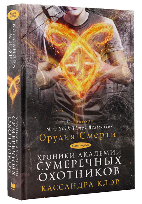 Кассандра Клэр Хроники Академии Сумеречных охотников. Книга 1