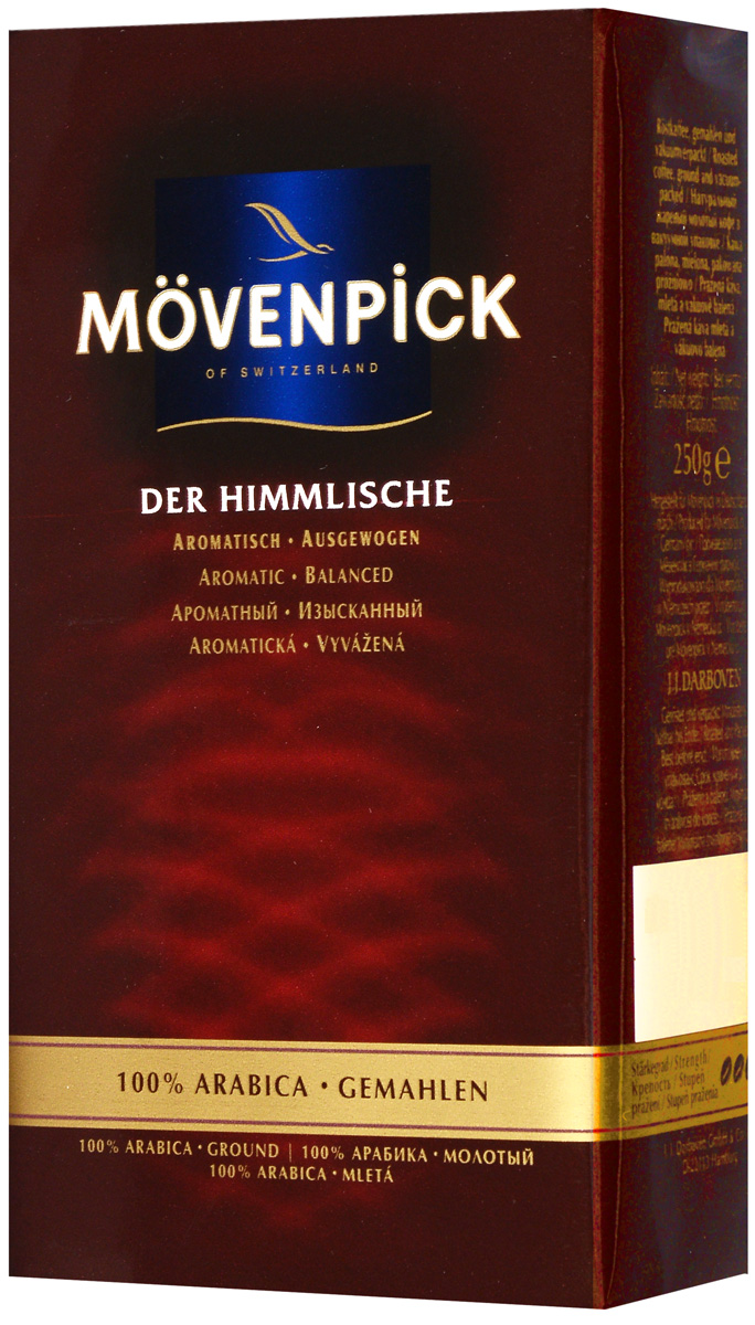 Movenpick of Switzerland Der Himmlische кофе молотый, 250 г h gastro–entrolog berning second world congress of gastroenterology grenzgebiete der gastroenterologie