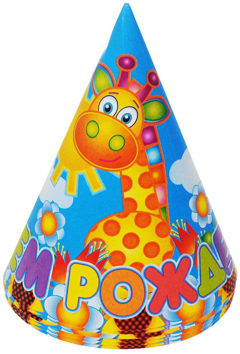 """Веселая затея Колпак """"С днем рождения: Страна игрушек"""", 6 шт"""