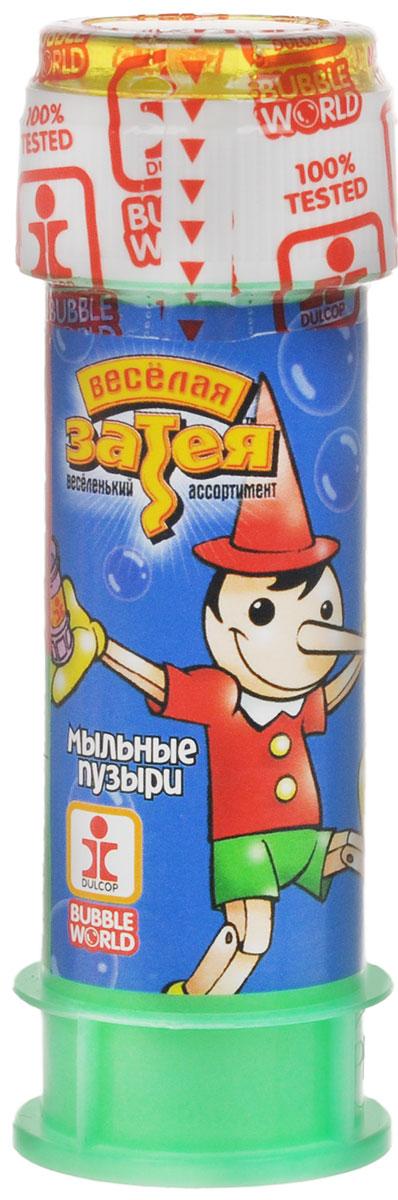 Веселая затея Мыльные пузыри Пиноккио, 60 мл мыльные пузыри формула 1 60 мл