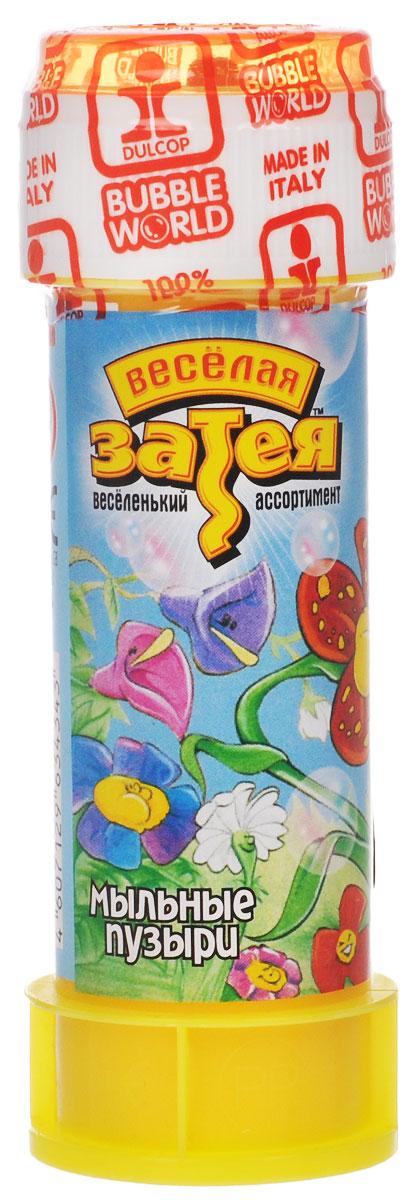 Веселая затея Мыльные пузыри  Цветы , 60 мл -  Мыльные пузыри