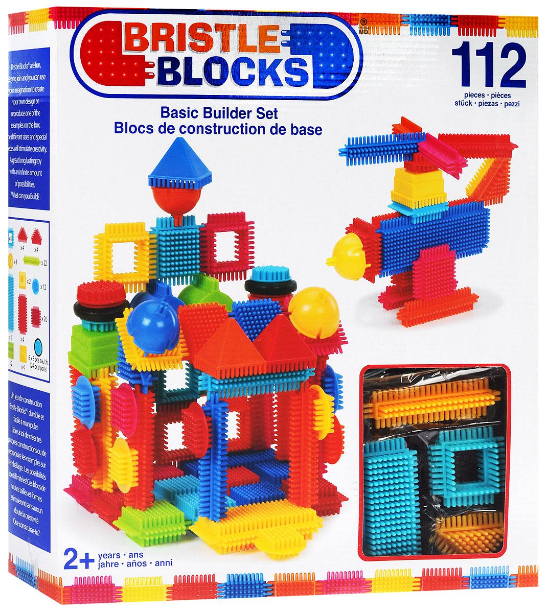 Battat Конструктор Bristle Blocks 68168 набор для песочницы battat ready beach bag с машинкой 11 предметов