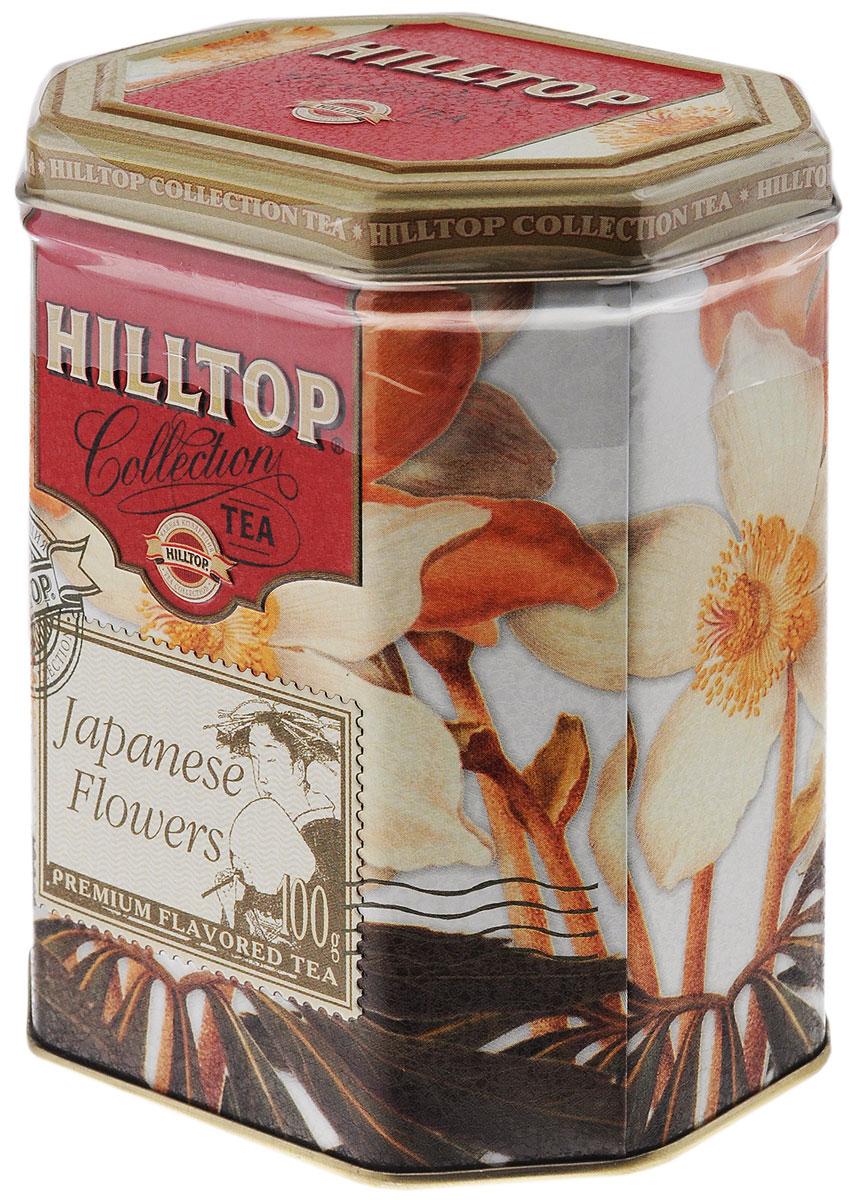 Hilltop Японская Липа зеленый листовой чай, 100 г зеленый чай hilltop чай hilltop collection зеленый чай с лимоном в ж б 100 гр