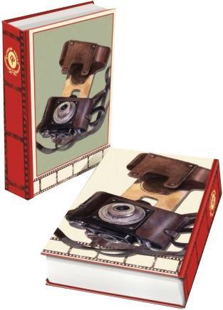 Декоративная шкатулка Фотоаппарат, 17 х 11 х 5 см