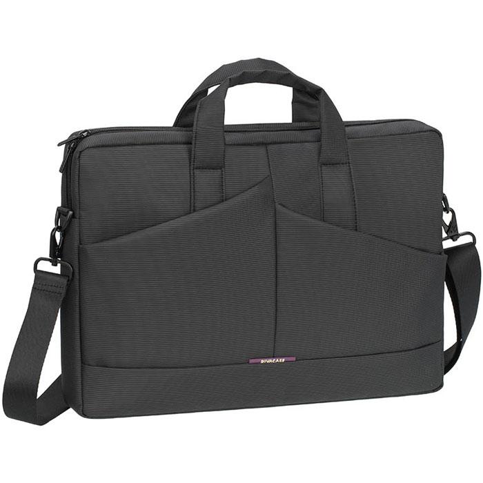 RIVACASE 8731 сумка для ноутбука 15,6, Grey столик для ноутбука до 15 6 crown cmls 102 алюминий пластик