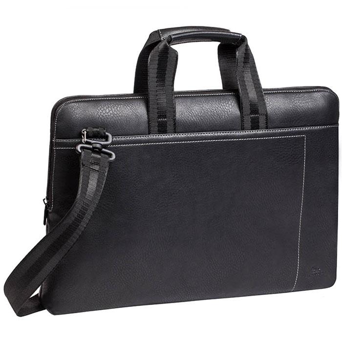 Riva 8930 сумка для ноутбука 15,6, Black кейс для ноутбука до 15 riva 8530 black