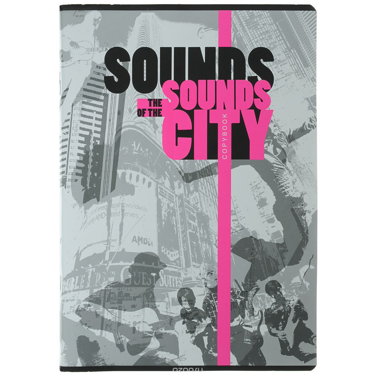 Полиграфика Тетрадь А4, 96л The of the Sounds City, 2 пантона (1 неон) city of friends – a portrait of the gay