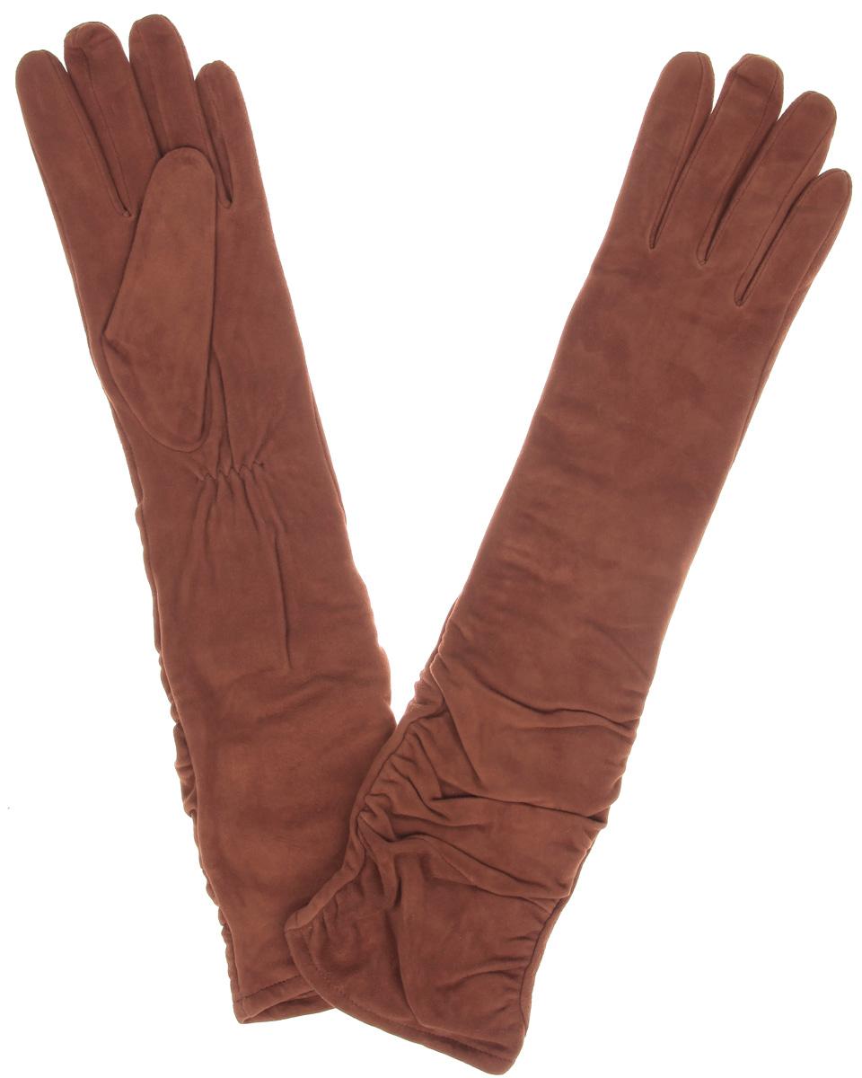 Перчатки женские Eleganzza, цвет: рыже-коричневый. IS02010. Размер 6,5 сумка eleganzza eleganzza el116bwafox9