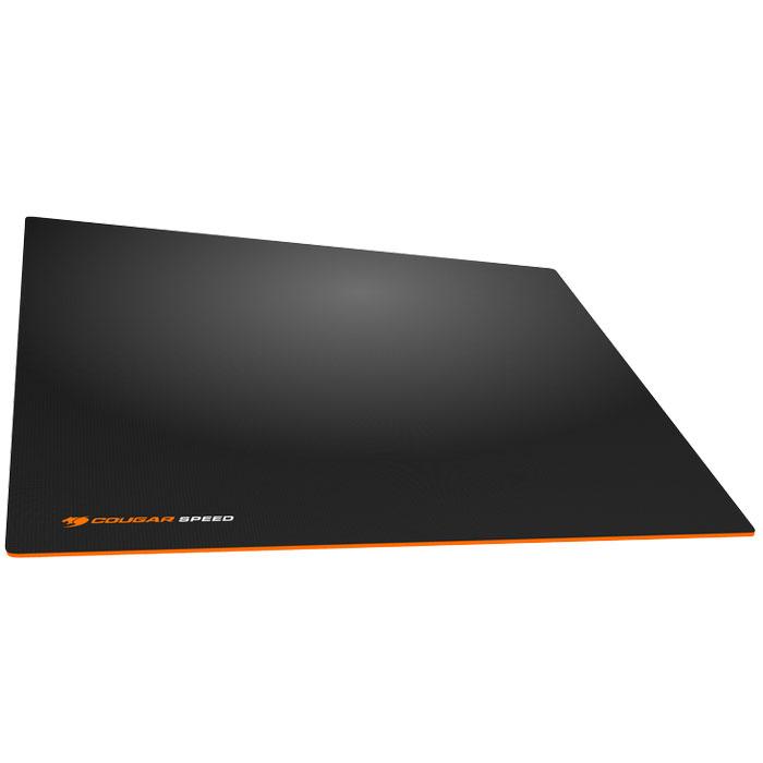 Cougar Speed M, Black Orange коврик для мышиCUSPMИгровые ковры Cougar Speed имеют гладкую поверхность для максимальной точности. Это позволяет двигать мышь настолько быстро, насколько это нужно, и останавливать её там, где это нужно. Гладкая поверхность обеспечивает максимальное скольжение и высокоточное позиционирование.Высокоточное позиционирование гарантирует точную работу сенсора, позволяя обойтись без лишних рывков.Идеальная толщина в 4 мм для наилучшего комфорта кисти руки.