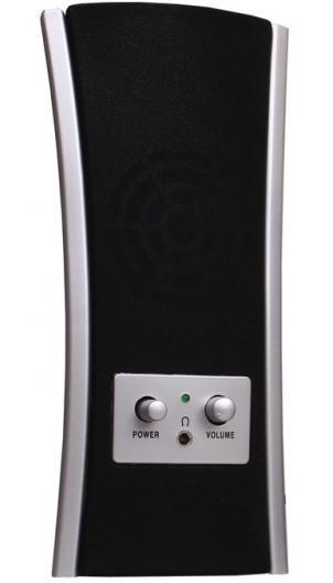 SmartBuy Heavens Orchestra SBA-1100 акустическая системаSBA-1100Акустическая система Smarttrack STA-1100 Heavens orchestra типа 2.0 для компьютера и ноутбука подарит море удовольствия от прослушивания любимых музыкальных композиций и звукового сопровождения в фильмах и играх. Модель имеет общую мощность 6 Вт, светодиодный индикатор работы и питается от порта USB. Благодаря стильному дизайну Smarttrack STA-1100 Heavens orchestra с легкостью впишется в любой интерьер.