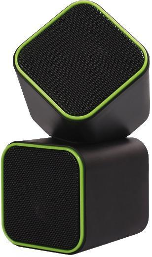 SmartBuy Cute SBA-2580, Black Green акустическая система smartbuy 336cag black green мышь