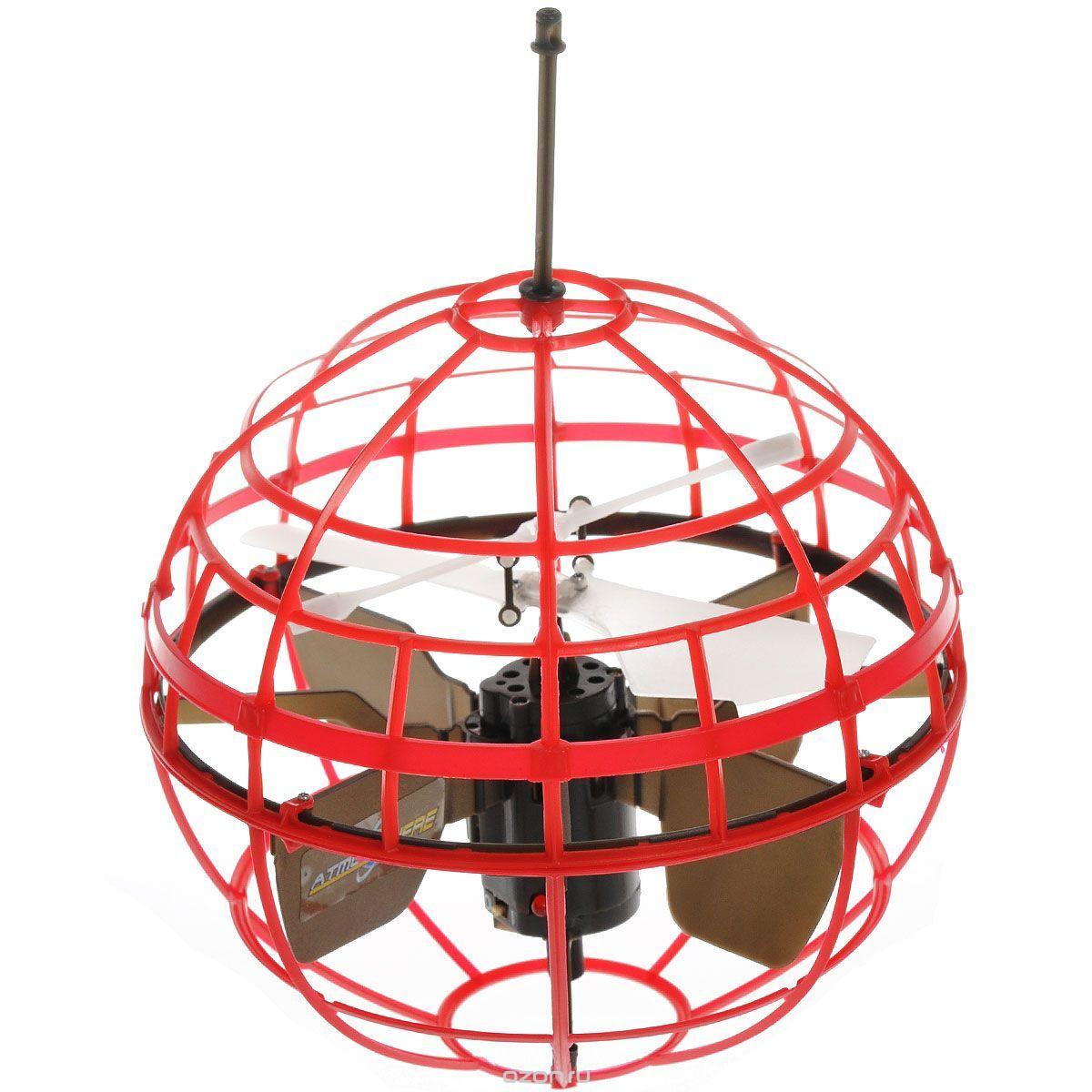 Air Hogs Игрушка на радиоуправлении Atmosphere Axis цвет красный air hogs вертолёт лезвие на радиоуправлении air hogs синий