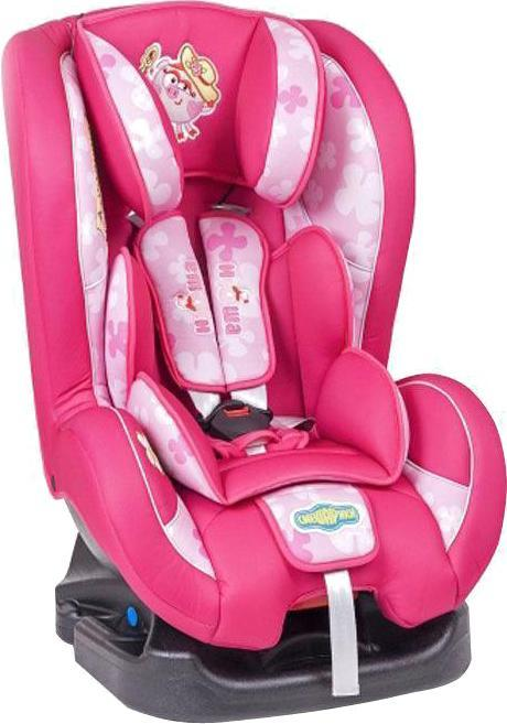 Автокресло Автопрофи / Autoprofi Автокресло Autoprofi Смешарики: Нюша, цвет: розовый, 0-18 кг детское автокресло cc