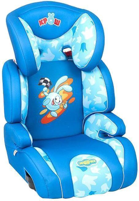 Автокресло Автопрофи / Autoprofi Автокресло Autoprofi  Смешарики: Крош , цвет: синий, голубой, 15-36 кг -  Автокресла и аксессуары