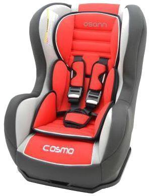Автокресло Nania Cosmo SP LX гр.0-1 Agora Carmin83129Когда вес ребенка достигнет 9-ти кг, кресло следует устанавливать лицом в направлении движения автомобиля, однако только на заднем сиденье. Конструкция авто-кресел этой группы представляет собой пластиковую основу на силовом каркасе. Благодаря тому, что наклон спинки можно регулировать, малыш сможет спокойно спать во время долгих путешествий.