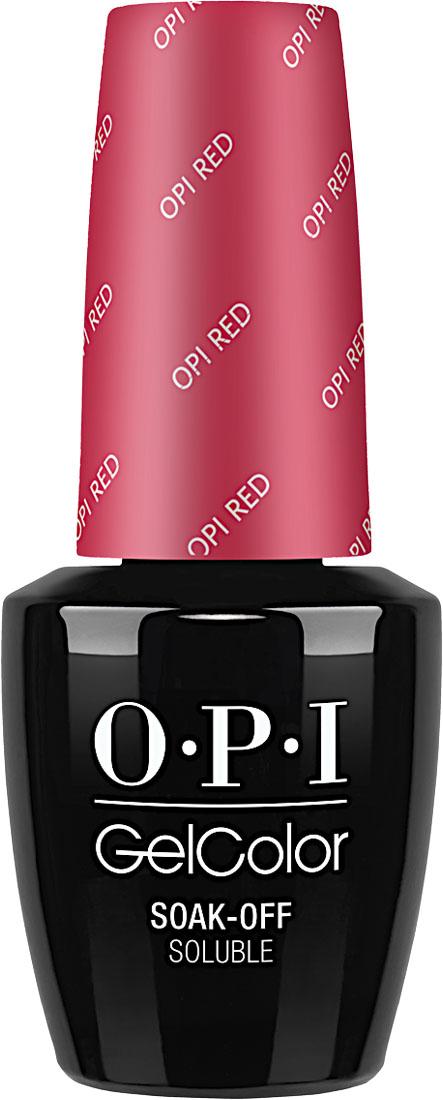 OPI Гель-лак GelColor OPI Red, 15 млGCL72Gelcolor от OPI. Gelcolor это 100% гель в лаковом флаконе! В отличие от гелей-лаков, из-за отсутствия лаковой составляющей Gelcolor неподвержен сколам и трещинам. Ультра-быстрое светоотверждение в LED-лампе OPI! Всего лишь 4 минуты на закрепление все слоев включаябазу и финальное покрытие на всех пальцах! Не требует шлифовки ногтей перед нанесением и опиливания при снятии, а значит не травмируетногти! Снимается за 15 минут отмачиванием. Gelcolor экономичен! Gelcolor - это высочайшее качество OPI по доступной цене. Оттенки легендарныхлаков OPI при желании можно наносить поверх Gelcolor . Сравните стоимость Gelcolor с другими марками и Вы увидите разницу! Стойкое исияющее покрытие на несколько недель с помощью Gelcolor.