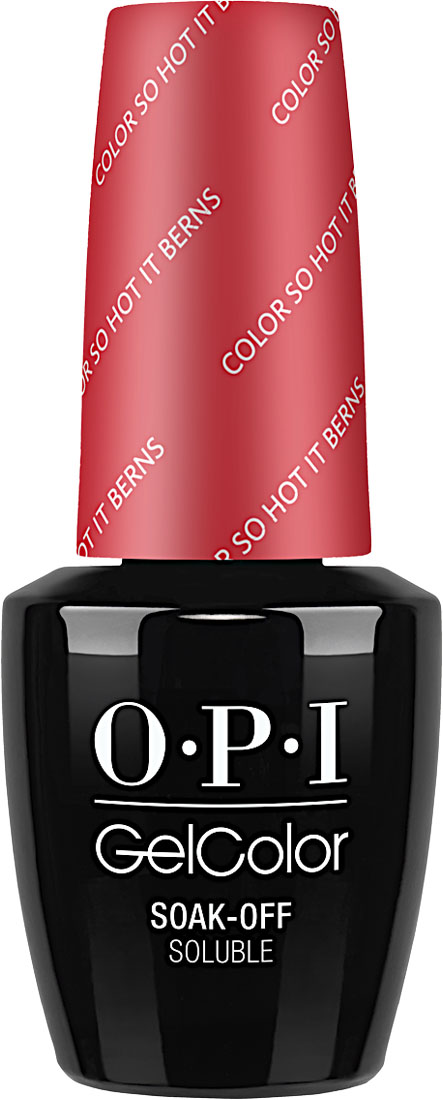 "OPI Гель-лак GelColor ""Color So Hot It Berns"", 15 мл"