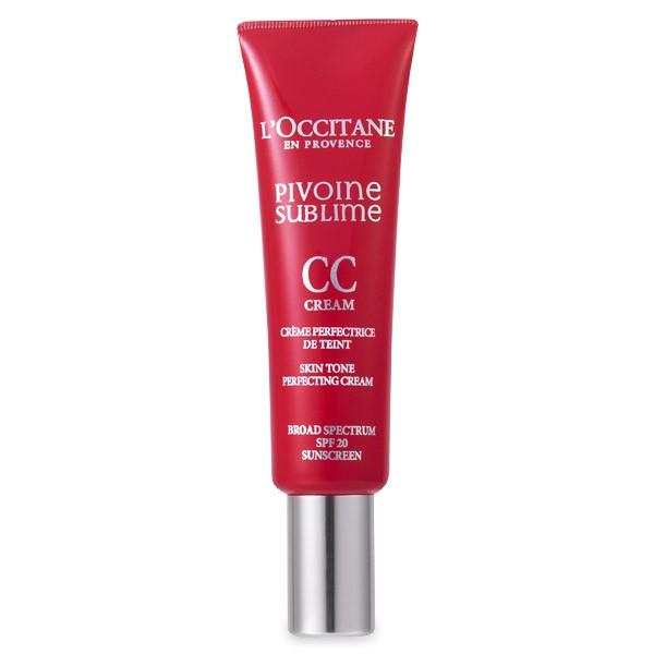 L'Occitane CC-крем Совершенный пион 30 мл, светлый