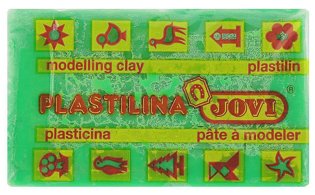 Jovi Пластилин, цвет: светло-зеленый, 50 г7010UПластилин Jovi - лучший выбор для лепки, он обладает превосходными изобразительными возможностями и поэтому дает простор воображению и самым смелым творческим замыслам.Пластилин, изготовленный на растительной основе, очень мягкий, легко разминается и смешивается, не пачкает руки и не прилипает к рабочей поверхности. Пластилин пригоден для создания аппликаций и поделок, ручной лепки, моделирования на каркасе, пластилиновой живописи - рисовании пластилином по бумаге, картону, дереву или текстилю. Пластические свойства сохраняются в течение 5 лет.