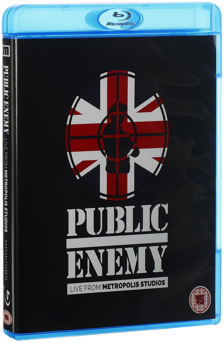 Public Enemy: Live At Metropolis Studios (Blu-ray) public enemy public enemy live from metropolis studios limited edition 2 cd 2 lp blu ray