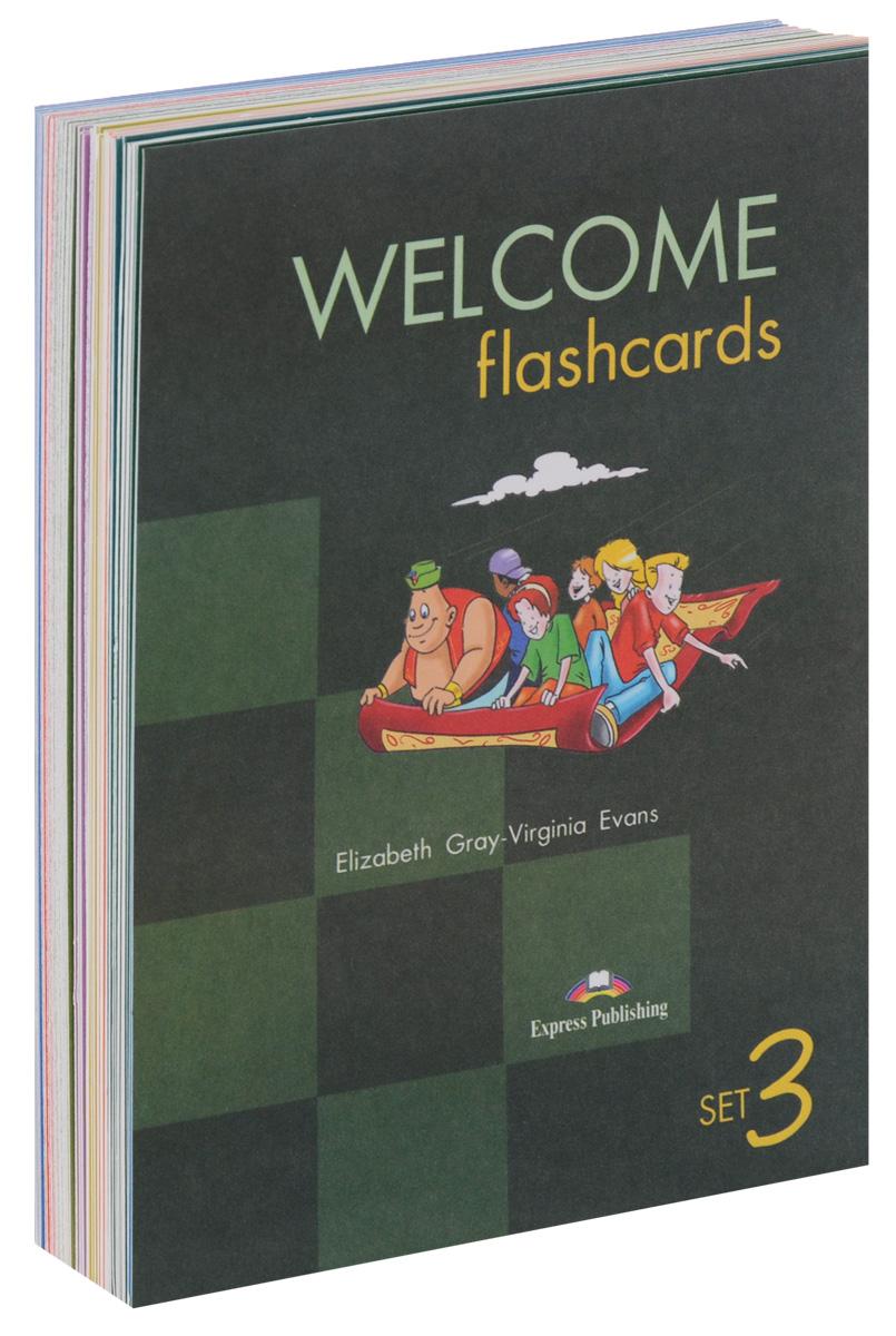 Virginia Evans, Elizabeth Gray Welcome Flashcards: Set 3 gray e teacher s book welcome 3