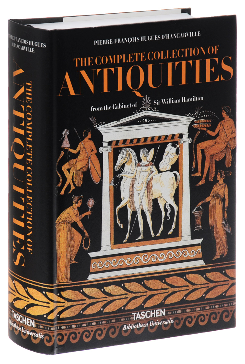 The Complete Collection of Antiquities from the Cabinet of Sir William Hamilton 10pcs set the complete collection of murals unearthed in china 10 volumes