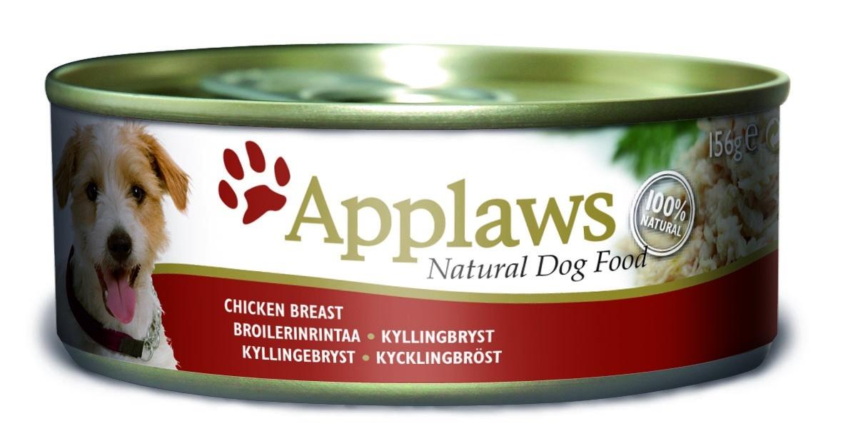 Консервы Applaws, для собак, с курицей и рисом, 156 г10279Каждая баночка Applaws содержит порцию свежего мяса, приготовленного в собственном бульоне. Для приготовления любого типа консервов используется мясо животных свободного выгула, выращенных на фермах Англии. В состав каждого рецепта входит только три/четыре основных ингредиента и ничего более. Не содержит ГМО, синтетических консервантов или красителей. Не содержит вкусовых добавок.Состав: филе куриной грудки 75%, куриный бульон 24%, рис 1%.Анализ: белок 13%, клетчатка 1%, жиры 0,3%, зола 2%, влага 82%.Товар сертифицирован.