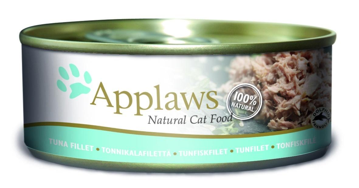 Консервы Applaws, для кошек, с филе тунца, 156 г24352Каждая баночка Applaws содержит порцию свежего мяса, приготовленного в собственном бульоне. Для приготовления любого типа консервов используется мясо животных свободного выгула, выращенных на фермах Англии. В состав каждого рецепта входит только три/четыре основных ингредиента и ничего более. Не содержит ГМО, синтетических консервантов или красителей. Не содержит вкусовых добавок.Состав: филе тунца 75%, рыбный бульон 19%, рис 6%.Анализ: белок 14 %, клетчатка 1 %, жиры 1 %, зола 2 %, влага 82 %.Товар сертифицирован.