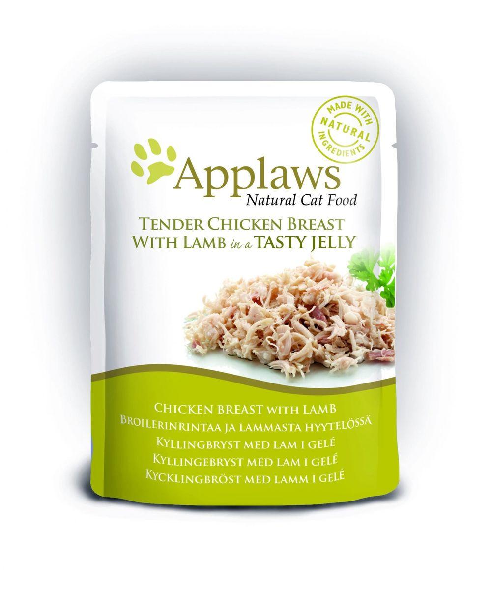 Консервы для кошек Applaws, кусочки курицы с ягненком в желе, 70 г24369Нежные кусочки в аппетитном желе для кошек изготовленные из свежих продуктов. Желе приготовлено из бульона при помощи натуральных загустителей. Известно, что желе помогает пищеварению кошек - легко переваривается, дает дополнительную влагу, также помогает при выводе шерсти. Состав: филе куриной грудки 55%, филе ягненка 7%, растительный желлирующий компонент (пектин) 1%.Гарантированный анализ: белок 12,5%, клетчатка 1%, жиры 1%, зола 1%, влага 84%. Товар сертифицирован.