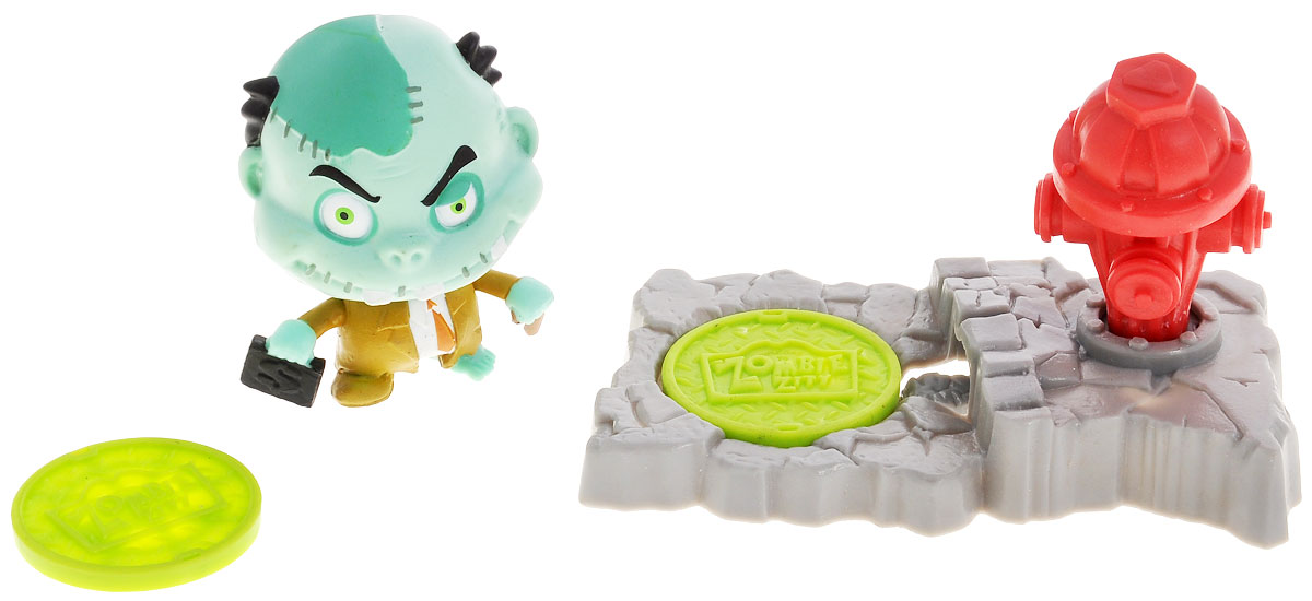 Zombie Zity Игровой набор Ловушка для зомби: Банкир