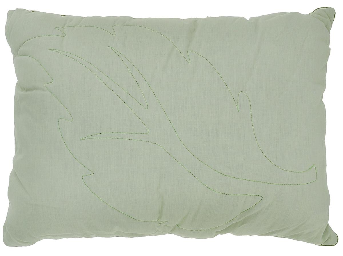 Подушка Primavelle Ortica, наполнитель: крапива, цвет: светло-зеленый, 50 х 72 см114360110-NtЧехол подушки Primavelle Ortica выполнен из 100% хлопка. Наполнитель подушки состоит из крапивы (70%) и полиэфира (30%). Стежка надежно удерживает наполнитель внутри и не позволяет ему скатываться.Волокно крапивы оказывает оздоравливающее воздействие на организм, Ваш сон будет здоровым и крепким. Витамины, которые содержатся в крапиве в большом количестве, оказывают общеукрепляющее и противовоспалительное воздействие. Помимо этого, благодаря содержанию в растении фитонцидов оно обладает бактерицидными свойствами, что обеспечивает защиту от развития микроорганизмов. Декоративная ниточная стежка лист крапивы не только надежно удерживает наполнитель, но и украшает подушку. Подушка упакована в тканевый чехол с одной пластиковой стороной на змейке с ручкой, что является чрезвычайно удобным при переноске. Рекомендации по уходу: - Допускается стирка при 30 градусах, - Нельзя отбеливать. При стирке не использовать средства, содержащие отбеливатели (хлор),- Не гладить. Не применять обработку паром, - Химчистка с использованием углеводорода, хлорного этилена, - Нельзя выжимать и сушить в стиральной машине.Размер подушки: 50 см х 72 см.Материал чехла: 100% хлопок.Материал наполнителя: внешний - 70% крапива, 30% полиэфир, внутренний - экофайбер (100% полиэстер).