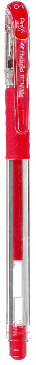 Pentel Гелевая ручка Hybrid Technica, цвет: красный