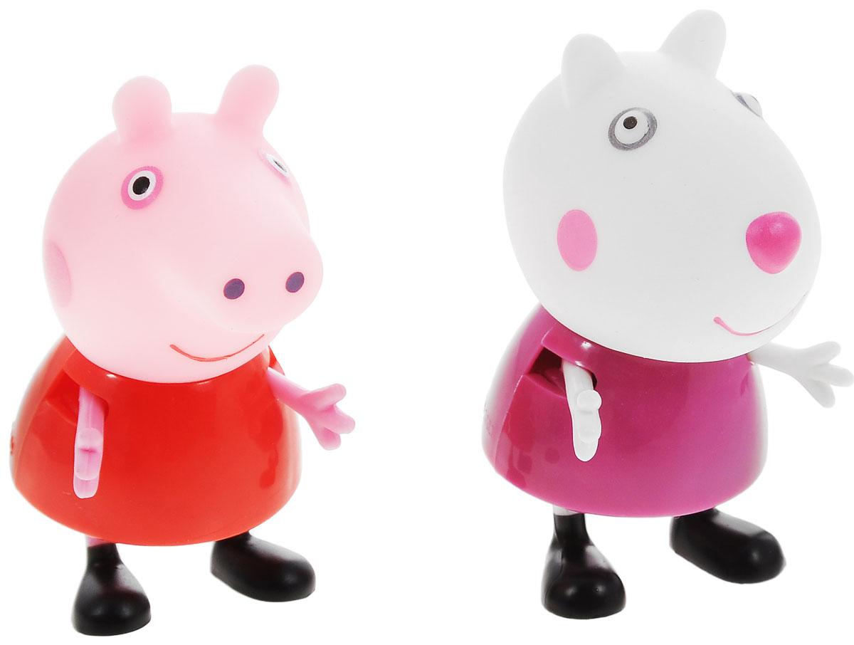 Peppa Pig Игровой набор Пеппа и Сьюзи игровой набор пеппа и сьюзи peppa pig игровой набор пеппа и сьюзи