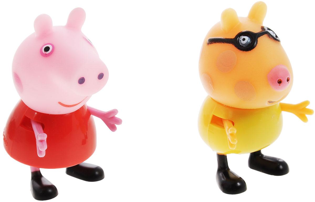 Peppa Pig Игровой набор Пеппа и Педро игровой набор пеппа и сьюзи peppa pig игровой набор пеппа и сьюзи