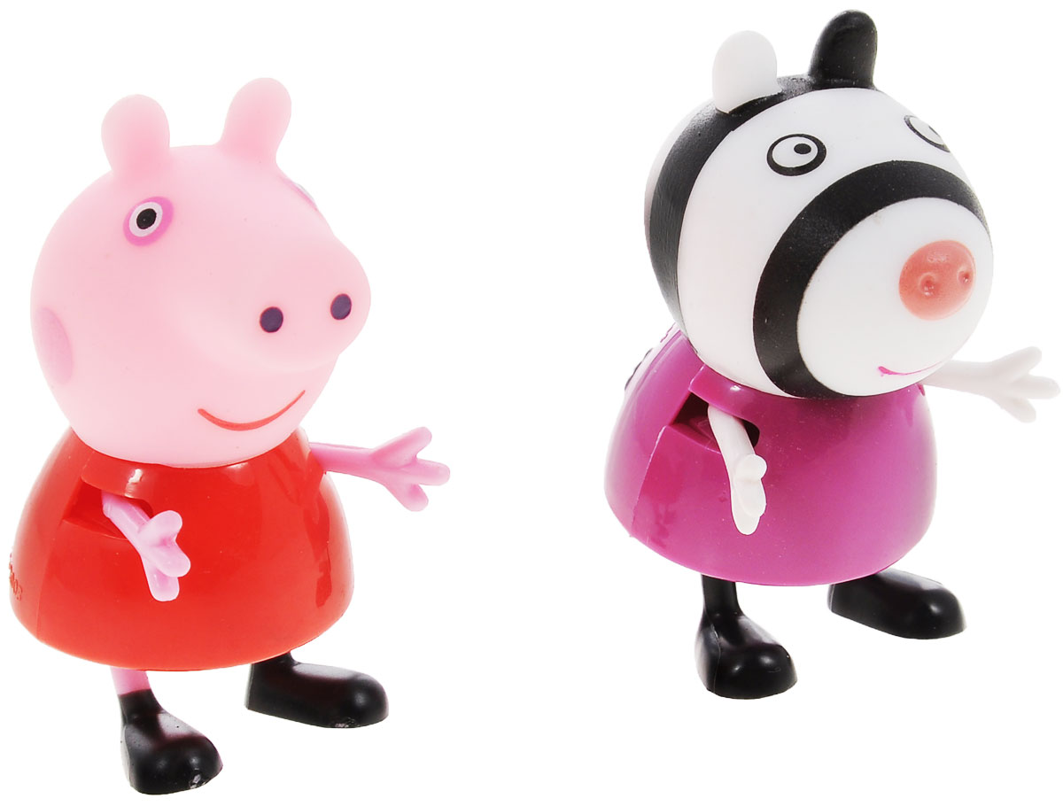 Peppa Pig Игровой набор Пеппа и Зои игровой набор пеппа и сьюзи peppa pig игровой набор пеппа и сьюзи