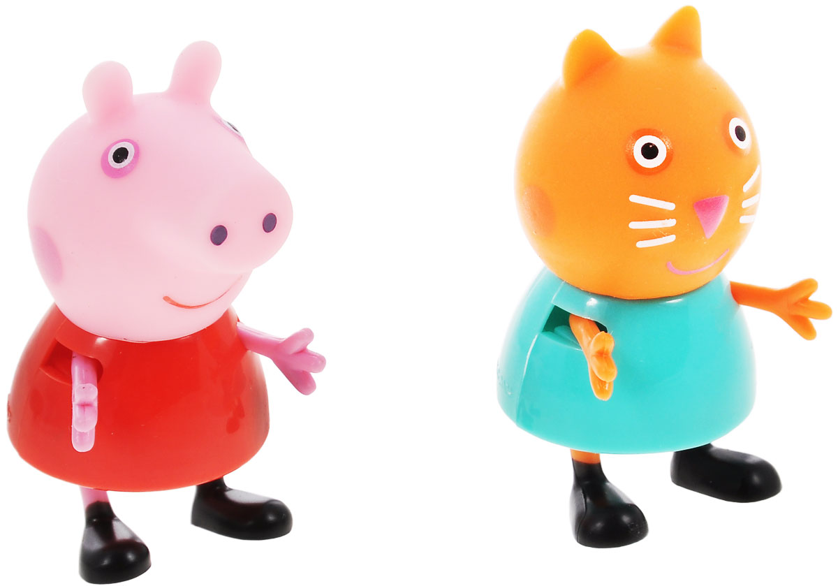 Peppa Pig Игровой набор Пеппа и Кенди игровой набор пеппа и сьюзи peppa pig игровой набор пеппа и сьюзи