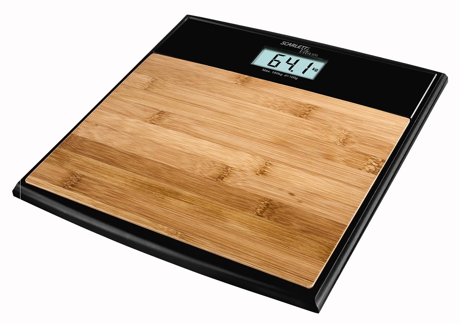 Scarlett SC-BS33E064 Bamboo весы напольные электронные весы напольные электронные scarlett sc bs33e084