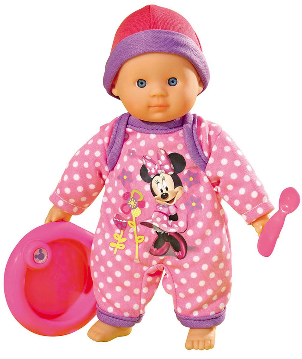 Simba Игровой набор с куклой Minnie Mouse Cute Baby simba пупс minnie mouse